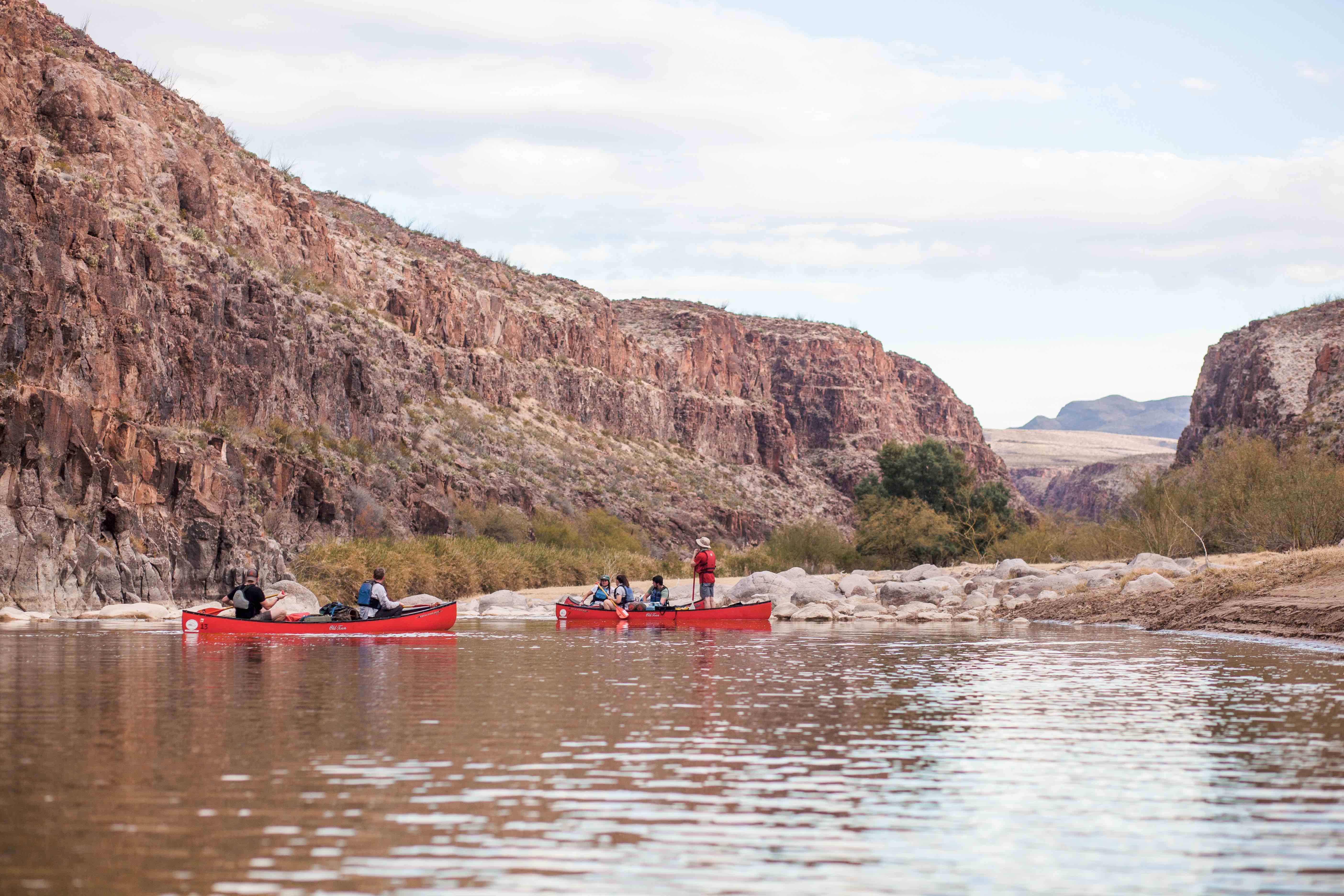 UREC Outdoors offers trips like canoeing on the Rio Grande River