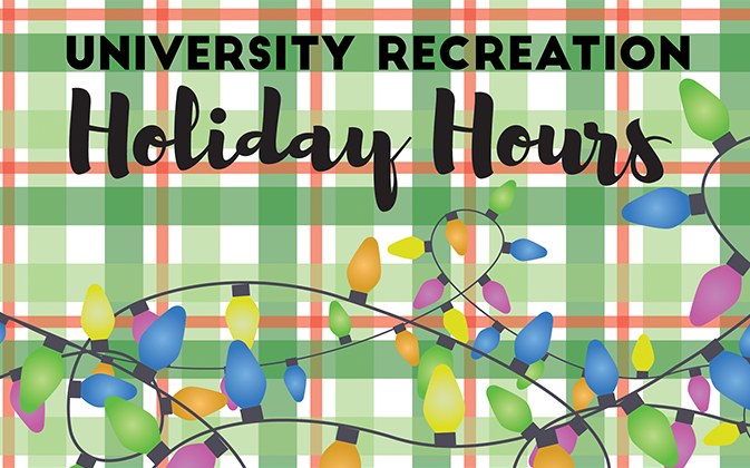 Special holiday hours will run from Friday, December 16 through Monday, January 16.