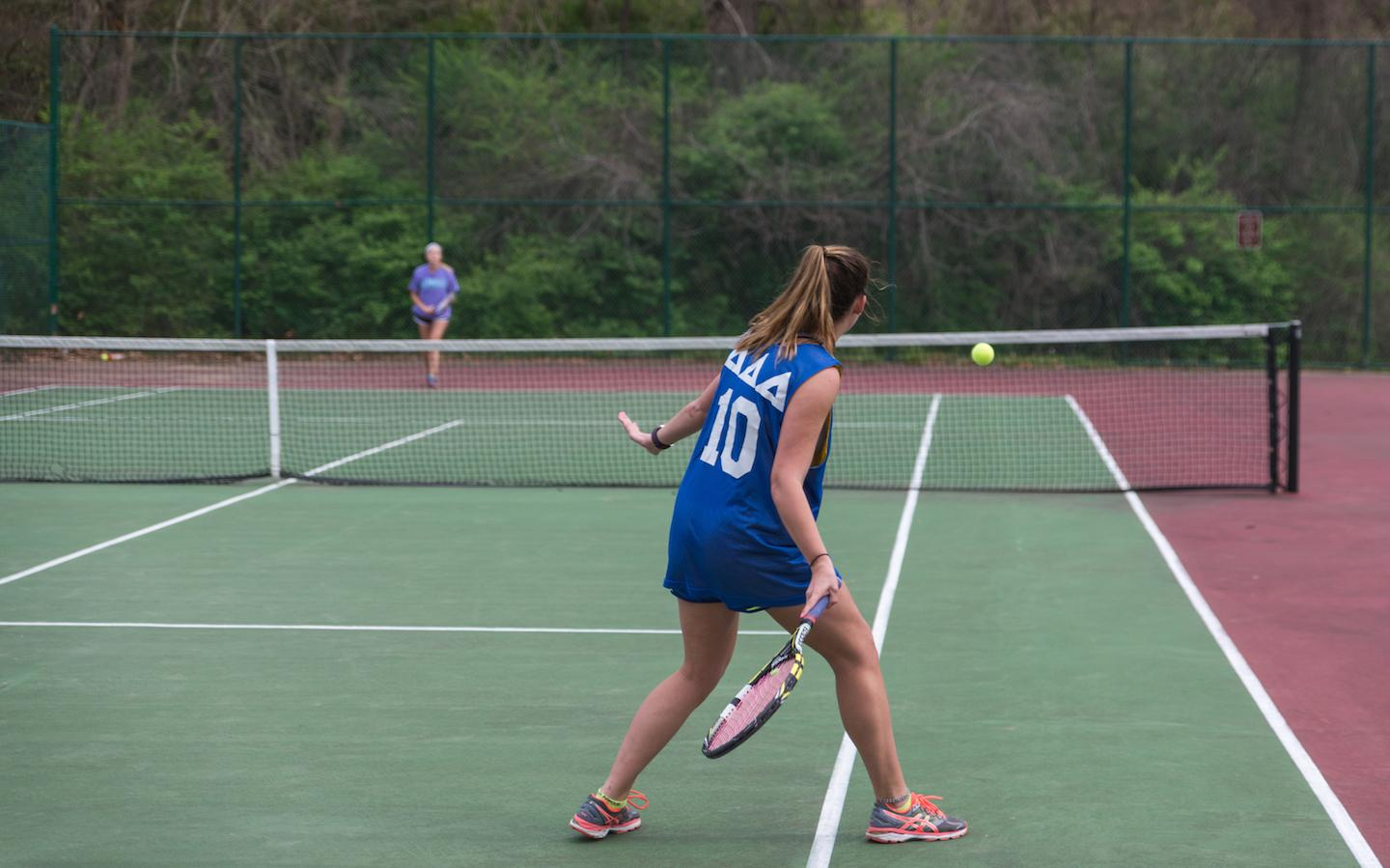 Registration for the Spring tennis tournament is open from March 26 until April 4. Click the slide to register.