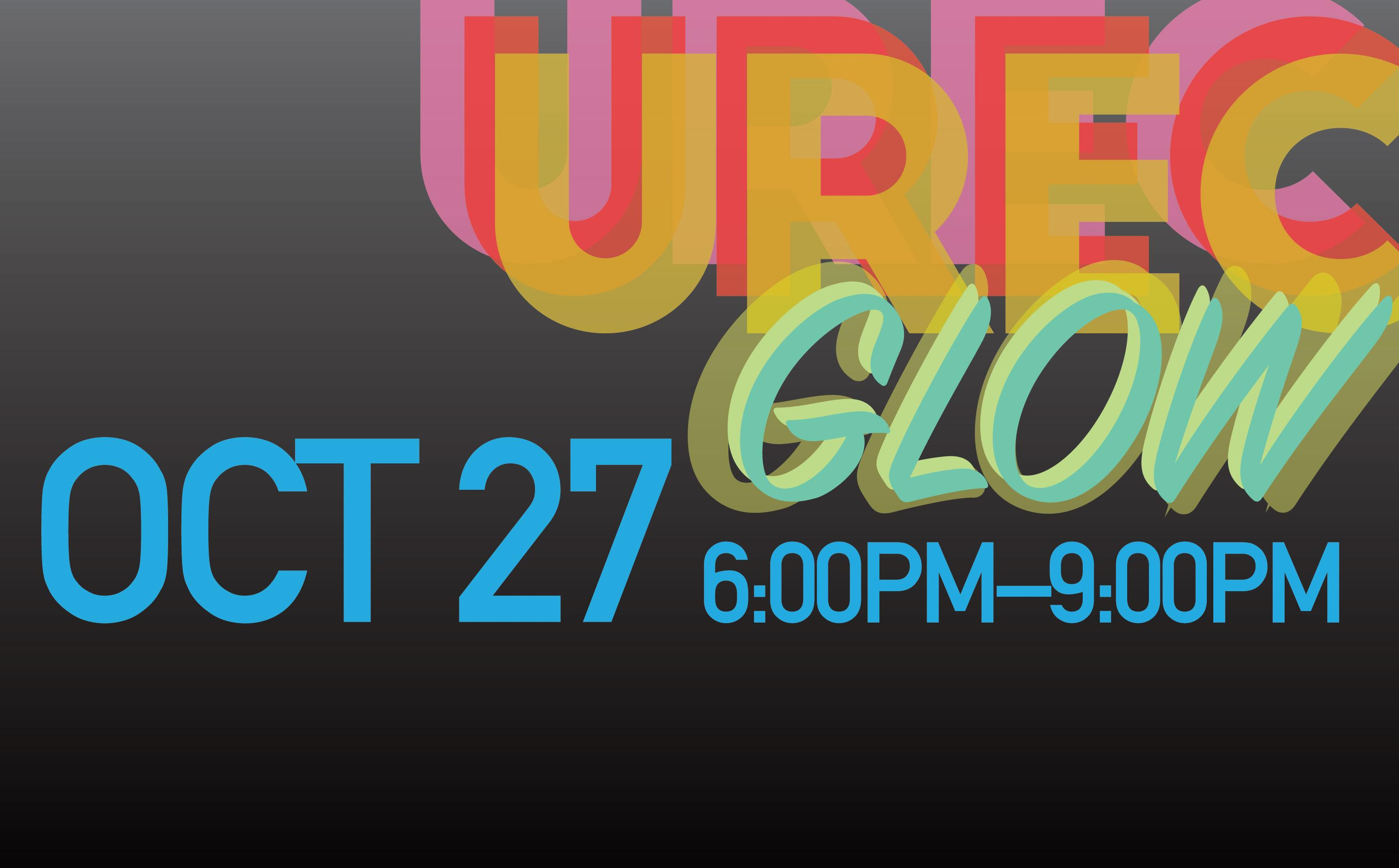 Try blacklight bouldering, wicked glow workouts, navigate the maze, and paint your face for the glow photo booth at UREC Glow.