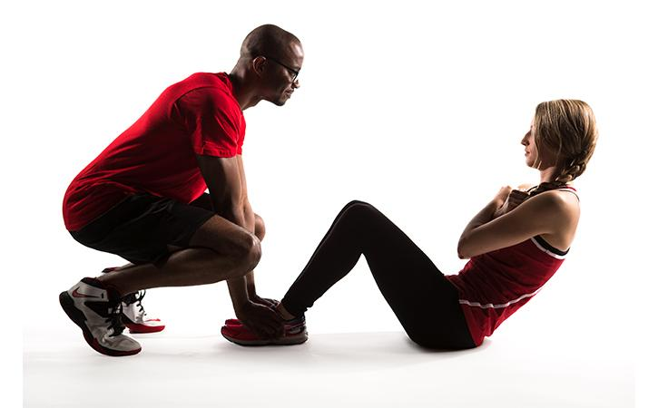 UREC offers one-hour sessions led by a certified personal trainer